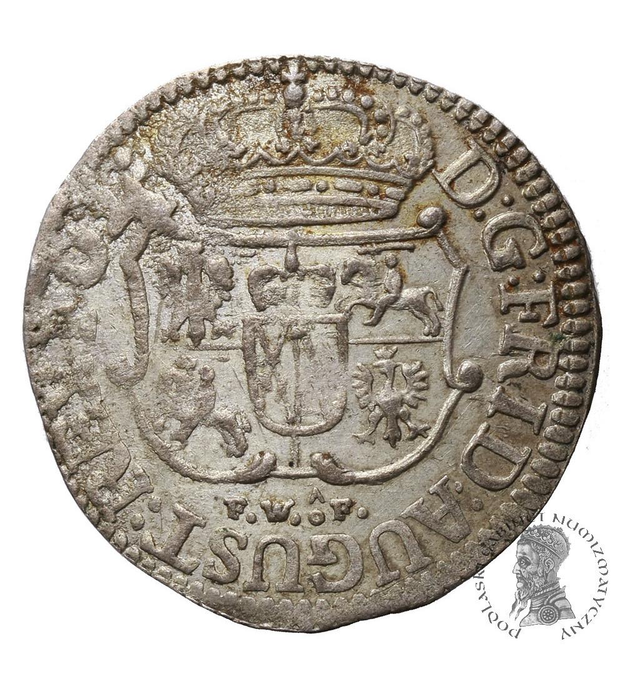 Polska / Saksonia. August III Sas. Grosz / 1/24  talara 1753 FWoF, Drezno