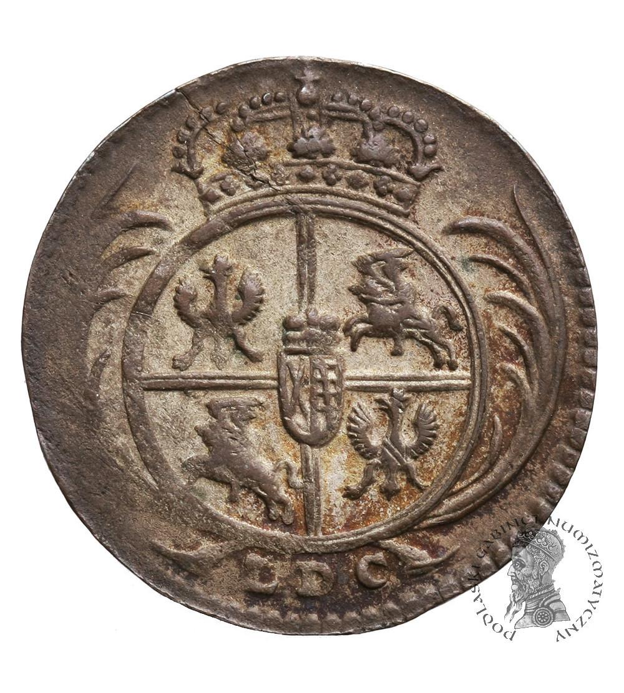 Polska. August III Sas 1733-1763. Grosz - 1/24 talara 1760 L / LDC, Lipsk