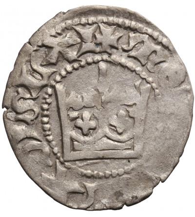 Poland. Ladislaus Jagiello 1386–1434. Half Groschen ND (1406-1407), Cracow