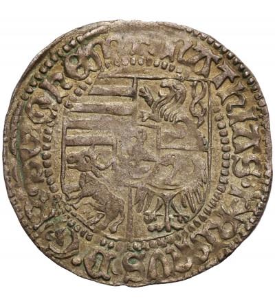 Śląsk. Wrocław (emisja miejska), Maciej Korwin 1469-1490. Grosz bez daty (1470-1471), Wrocław