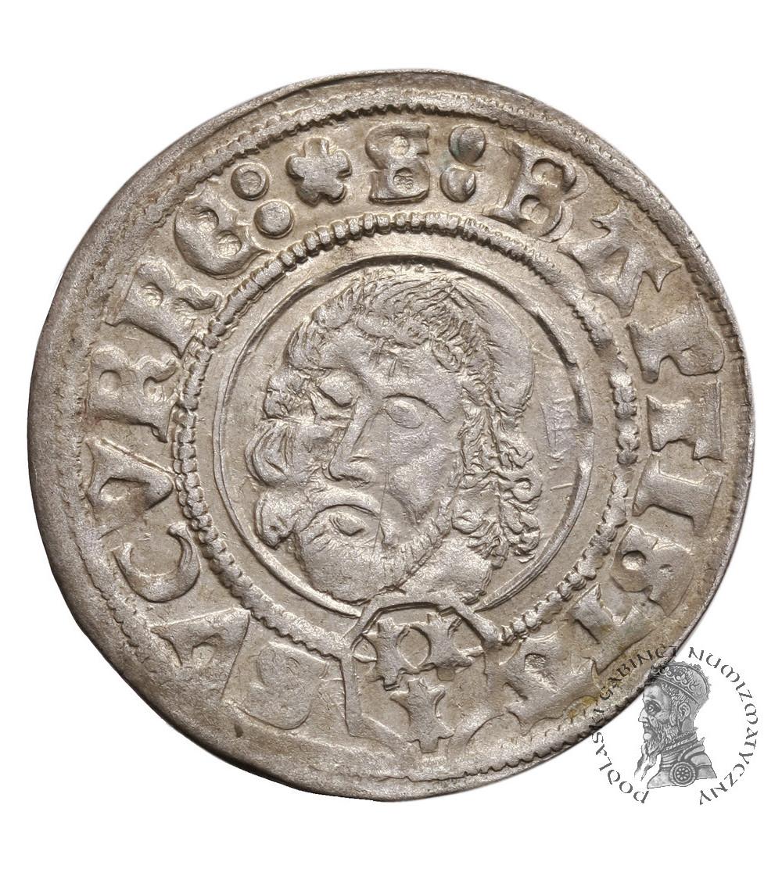 Silesia / Schlesien-Breslau, Bistum. Johann von Turzo 1506–1520. AR Groschen 1506 (15-6), Neisse