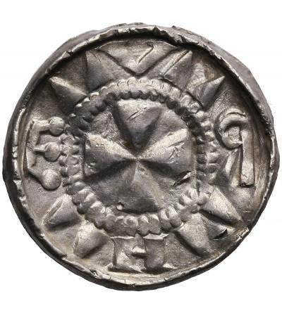 Polska. Denar Krzyżowy XI wiek