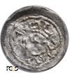 Polska. Bolesław III Krzywousty 1107-1138. Denar bez daty, Kraków - PCGS MS 62
