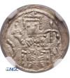 Polska. Bolesław IV Kędzierzawy 1146-1173. Denar ok. 1157-1166, Kraków - NGC MS 64