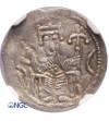 Polska. Bolesław IV Kędzierzawy 1146-1173. Denar ok. 1157-1166, Kraków - NGC MS 62