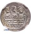 Polska. Bolesław IV Kędzierzawy 1146-1173. Denar ok. 1157-1166, Kraków - NGC MS 63