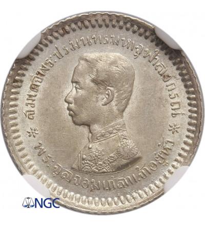 Tajlandia 1/8 Baht (1 Fuang) bez daty (1876-1900) - NGC MS 61