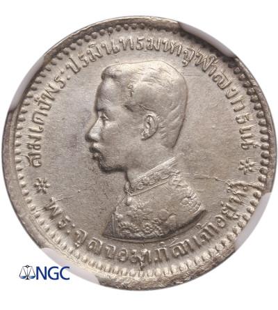 Tajlandia 1/4 Baht (Salu'ng) bez daty (1876-1900), Rama V - NGC AU 55
