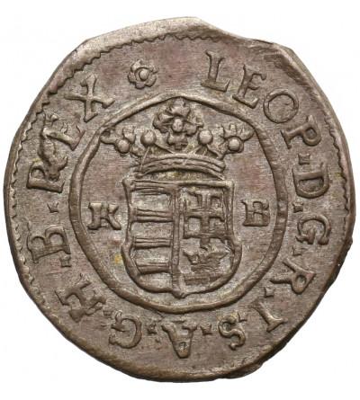 Austria / Hungary (Holy Roman Empire). Denar 1693 KB, Kremnitz, Leopold I