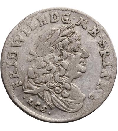 Prusy Książęce, Fryderyk Wilhelm 1641-1688. Szóstak (6 groszy) 1685 LCS, Berlin