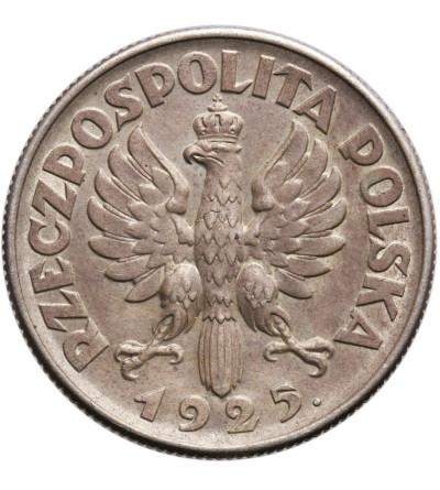 Polska 2 złote 1925, Londyn - po roku kropka