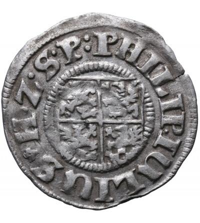 Pomorze, Filip Juliusz. Grosz (1/24 talara) 1611, Nowopole