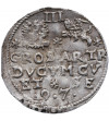 Kurlandia. Fryderyk Kettler 1587-1642. Trojak (3 grosze) 1597, Mitawa