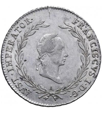 Austria 20 krajcarów 1828 A, Wiedeń, Franciszek I