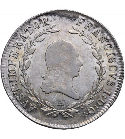 Austria 20 krajcarów 1815 A, Wiedeń, Franciszek I