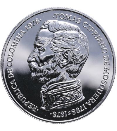 Kolumbia 750 Pesos 1978, koliber