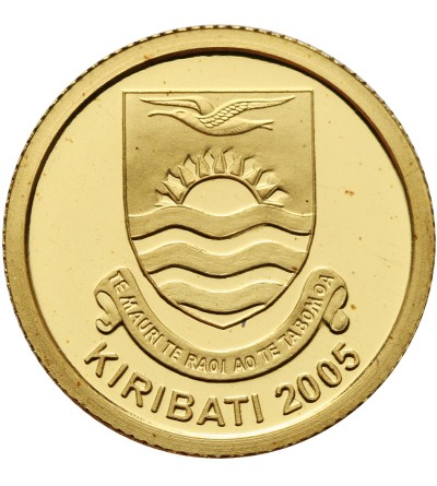 Kiribati 50 dolarów 2005, Jezus i Maryja - Proof