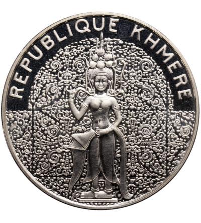 Kambodża - Republika Khmerów. 10000 Riels 1974, niebiańska tancerka