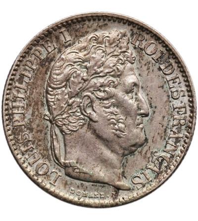 Francja 50 Centimes 1847, Paryż, Ludwik Filip I 1830-1848