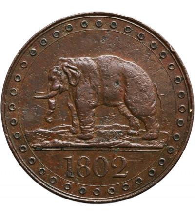 Cejlon 1/48 Rixdollar 1802, Jerzy III