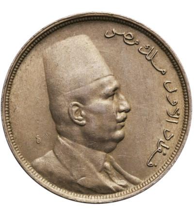 Egipt 10 Milliemes AH 1342 / 1924 AD, Fuad I