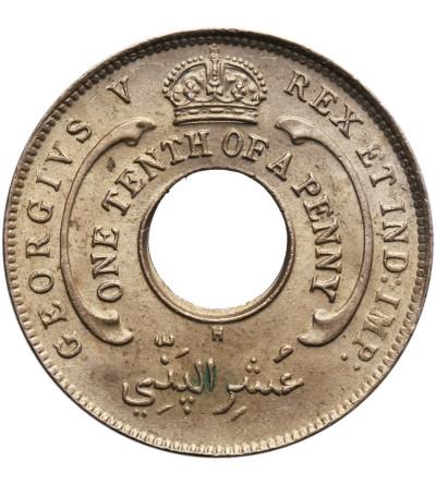 Brytyjska Afryka Zachodnia 1/10 penny 1919 H