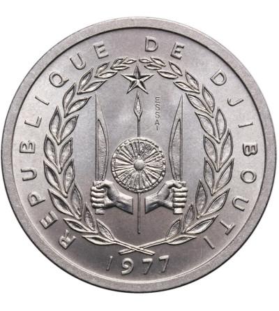 Dżibuti 2 franki 1977, ESSAI (próba)