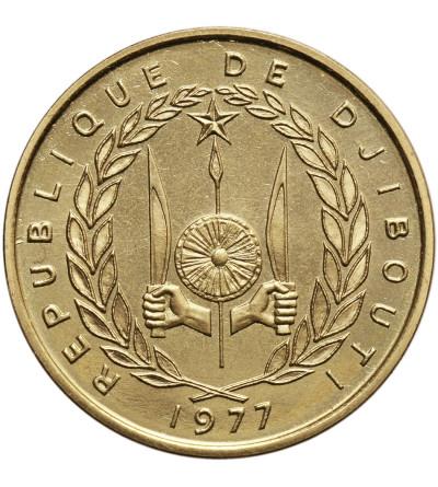 Dżibuti 20 franków 1977, ESSAI (próba)