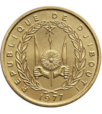 Dżibuti 10 franków 1977, ESSAI (próba)