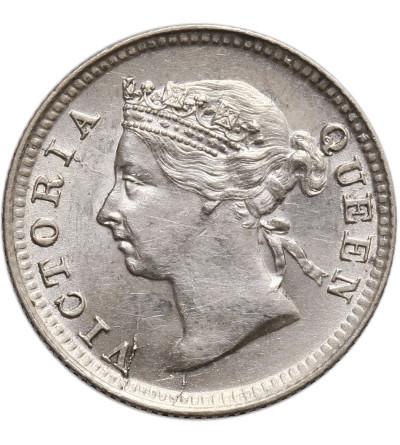 Malaje - Straits Settlements 5 centów 1896