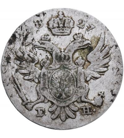 Polska, Królestwo Kongresowe. 5 groszy 1827 FH, Warszawa, Mikołaj I