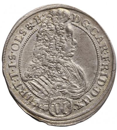 Śląsk. Księstwo Ziębicko-Oleśnickie. 6 krajcarów 1715 CVL, Oleśnica