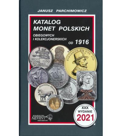 Katalog monet polskich 2021, J. Parchimowicz