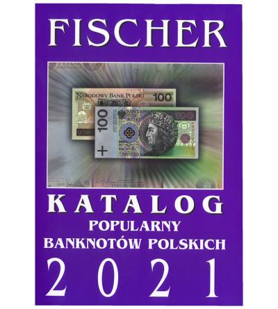 Katalog popularny banknotów polskich 2021 - Fischer