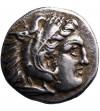 Kingdom of Macedon. Antigonos I Monophthalmos. AR Drachm ca. 320-301 BC, Lampsakos