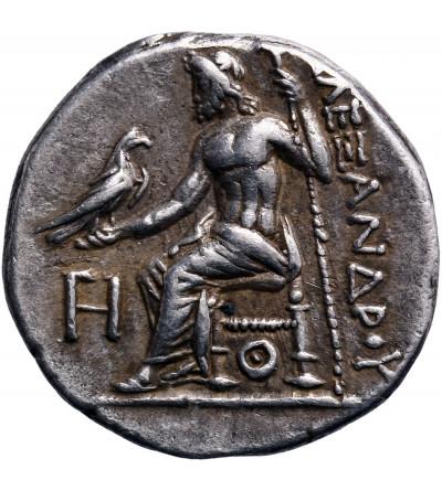 Grecja. Macedonia. Antigonos I Monophthalmos. AR Drachma ok. 320-301 p.n.e., Lampsakos