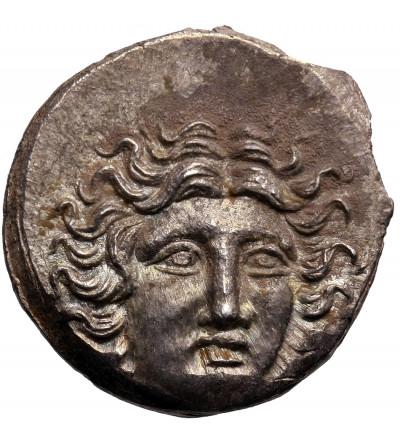 Karia. Rodos. AR Drachma 175-170 r. p.n.e. (naśladownictwo bita na terenie Tesali )