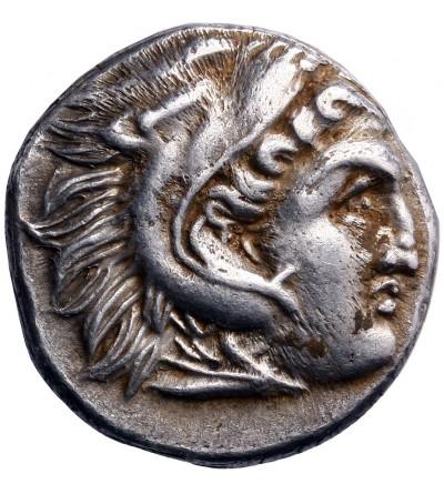 Grecja. Macedonia, Antigonos I Monophthalmos. AR Drachma ok. 306-301 p.n.e., Lampsakos