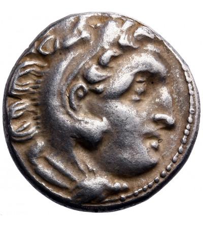 Grecja. Macedonia, Antigonos I Monophthalmos. AR Drachma ok. 310-301 p.n.e., Kolofon (Kolophon)