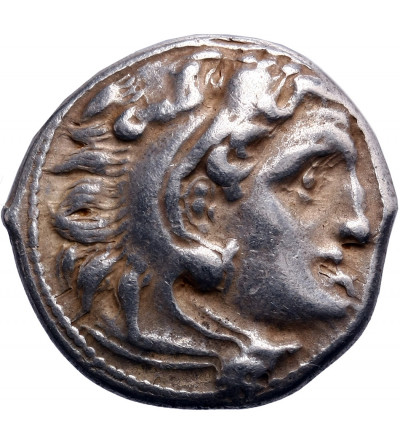 Kingdom of Macedon. Antigonos I Monophthalmos. AR Drachm ca. 310-301 BC, Kolophon