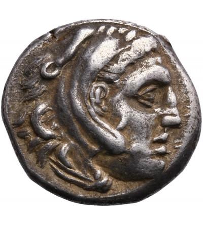 Kingdom of Macedon, Leonnatos, Arrhidaios or Antigonos I Monophthalmos, AR Drachm ca. 323-317 BC, Lampsakos