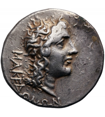 Kingdom of Macedon, under Roman Rule. AR Tetradrachm ca. 95-70 r. p.n.e., Magistrat Aesillas (Quaestor)