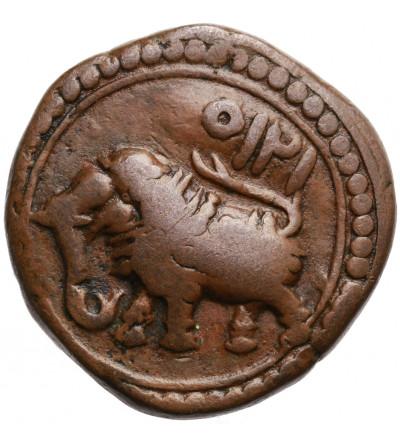 Indie - Mysore. AE Paisa AM 1215, Patan, Tipu Sultan 1787-1799 AD