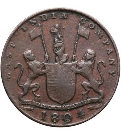 Netherlands East Indies 2 Kepings AH 1219 / 1804 AD, Sumatra (East India Comapany)