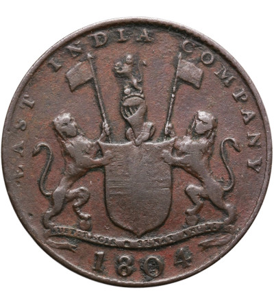 Wschodnie Indie Holenderskie 2 Kepings AH 1219 / 1804 AD, Sumatra (East India Company)