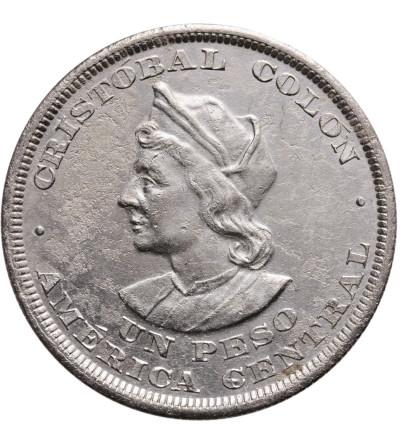 El Salvador Peso 1894 C.A.M., Columbus