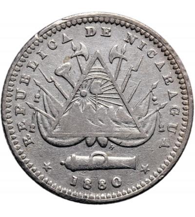 Nikaragua 10 Centavos 1880 H
