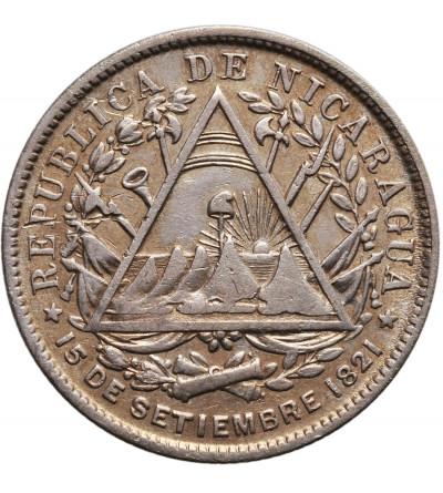 Nikaragua 20 Centavos 1887 H