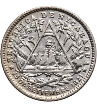 Nikaragua 10 Centavos 1887 H