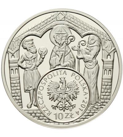Polska 10 złotych 2014, Historia Monety Polskiej - Brakteat Mieszka III Starego
